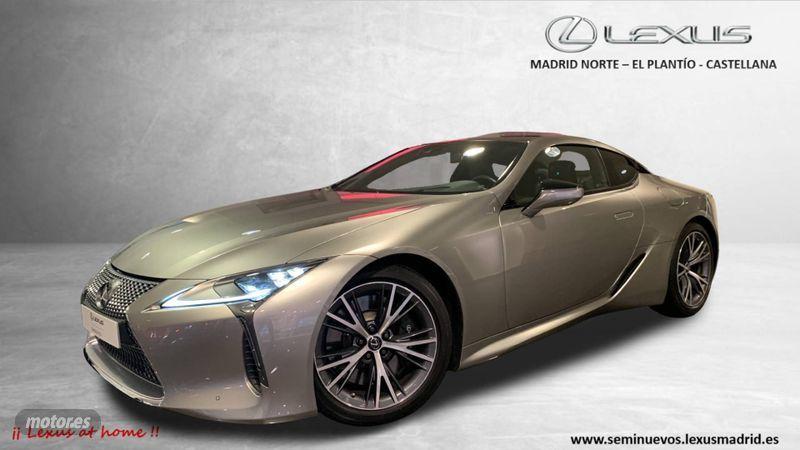 Lexus LC 500 Luxury. 790€/mes.