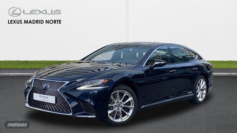 Lexus LS 500h Luxury L-Aniline (AWD). 745€/mes.